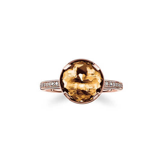 solitair ring splenic chakra from the Chakras collection in the THOMAS SABO online store