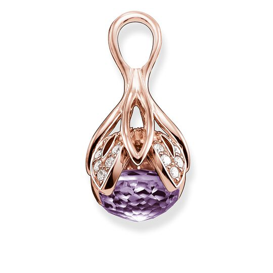 "pendant ""purple lotus flower"" from the Glam & Soul collection in the THOMAS SABO online store"