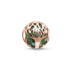 Bead albero della vita verde from the Karma Beads collection in the THOMAS SABO online store