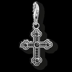 """pendentif Charm """"croix noire"""" de la collection  dans la boutique en ligne de THOMAS SABO"""