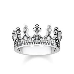 """Ring """"Krone silber"""" aus der Glam & Soul Kollektion im Online Shop von THOMAS SABO"""