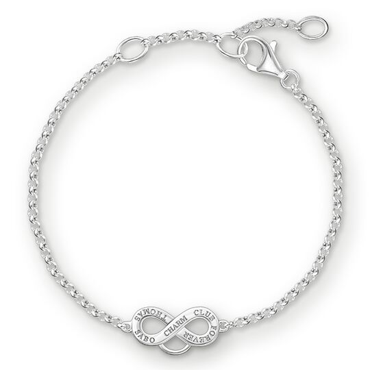 """Charm bracelet """"infinity"""" from the  collection in the THOMAS SABO online store"""