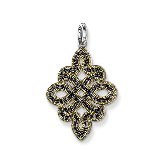 pendant black diamond Love Knot from the  collection in the THOMAS SABO online store