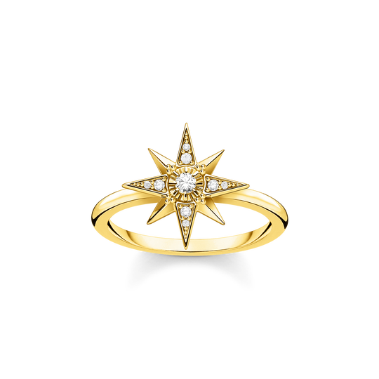 Ring star gold from the Glam & Soul collection in the THOMAS SABO online store