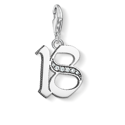 "Charm pendant ""18"" from the  collection in the THOMAS SABO online store"