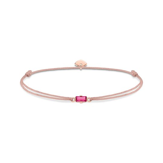 bracelet Little Secret Hot-pink stone Baguette cut from the  collection in the THOMAS SABO online store