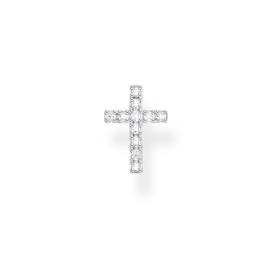 Single ear stud cross from the Charming Collection collection in the THOMAS SABO online store