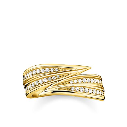 ring leaves gold from the Glam & Soul collection in the THOMAS SABO online store