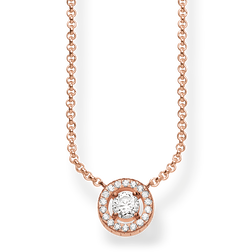 "necklace ""Light of Luna"" from the Glam & Soul collection in the THOMAS SABO online store"
