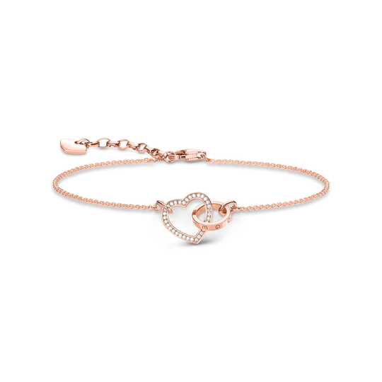 bracelet heart together forever from the Glam & Soul collection in the THOMAS SABO online store