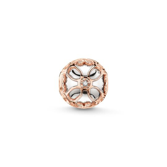 Bead lotus flower from the Karma Beads collection in the THOMAS SABO online store