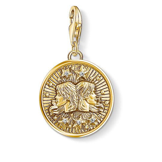 Charm pendant zodiac sign Gemini from the  collection in the THOMAS SABO online store