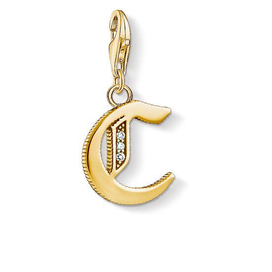 """pendentif Charm """"lettre C or"""" de la collection  dans la boutique en ligne de THOMAS SABO"""