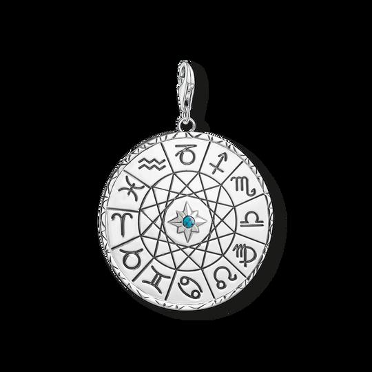 Charm-Anhänger Sternzeichen Coin silber aus der Charm Club Kollektion im Online Shop von THOMAS SABO