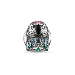 Bead parrot from the Glam & Soul collection in the THOMAS SABO online store