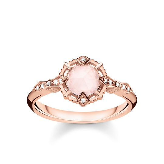 ring vintage pink from the Glam & Soul collection in the THOMAS SABO online store