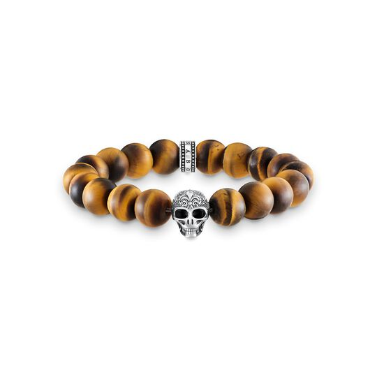 power bracelet skull with lily from the  collection in the THOMAS SABO online store