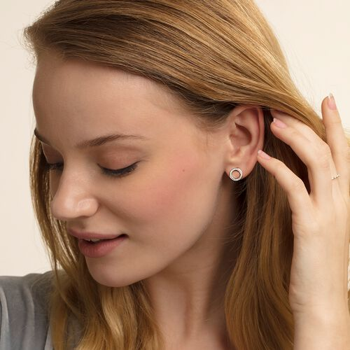"ear studs ""Circles Large"" from the Glam & Soul collection in the THOMAS SABO online store"