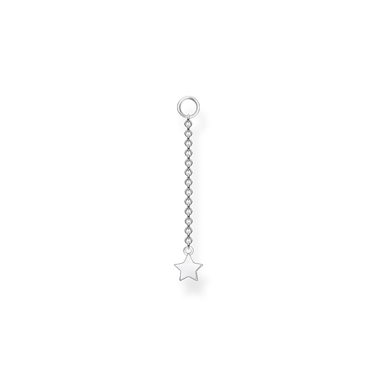 Single ear pendant star silver from the Charming Collection collection in the THOMAS SABO online store