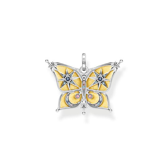 Pendant butterfly with moon and stars gold from the  collection in the THOMAS SABO online store
