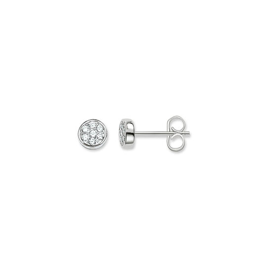 ear studs sparkling circles from the  collection in the THOMAS SABO online store
