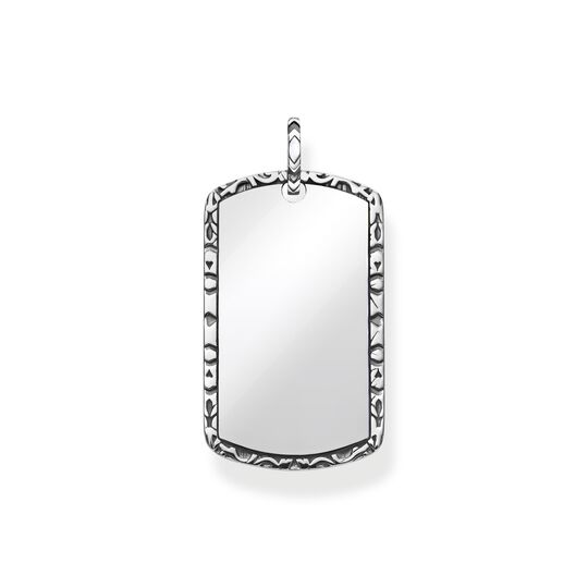 pendant dog tag from the  collection in the THOMAS SABO online store