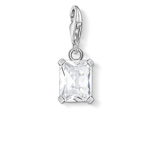 charm pendant white stone from the Charm Club collection in the THOMAS SABO online store