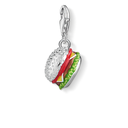Charm pendant Cheeseburger from the  collection in the THOMAS SABO online store