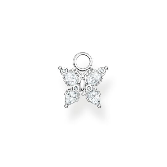 Ear pendant butterfly white stones from the Charming Collection collection in the THOMAS SABO online store