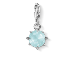 Charm pendant birth stone March from the Charm Club Collection collection in the THOMAS SABO online store