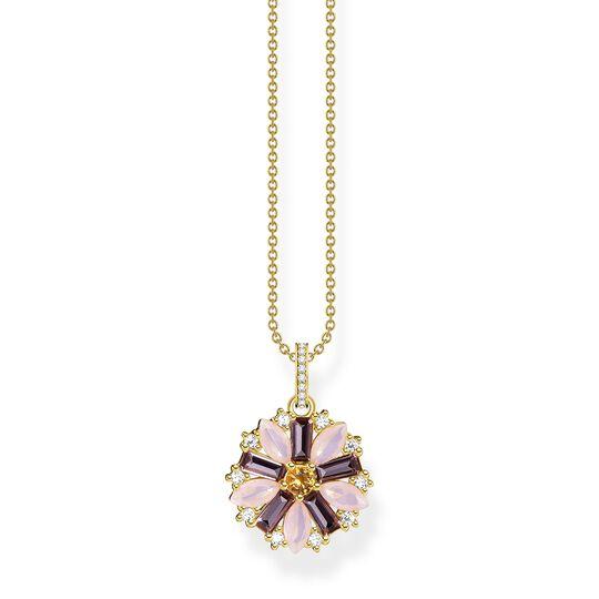 Kette Blume gold aus der  Kollektion im Online Shop von THOMAS SABO