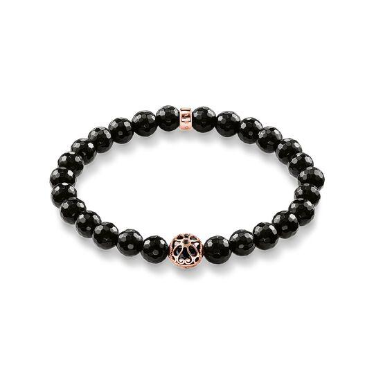 Bracelet fleur de lotus noire de la collection  dans la boutique en ligne de THOMAS SABO
