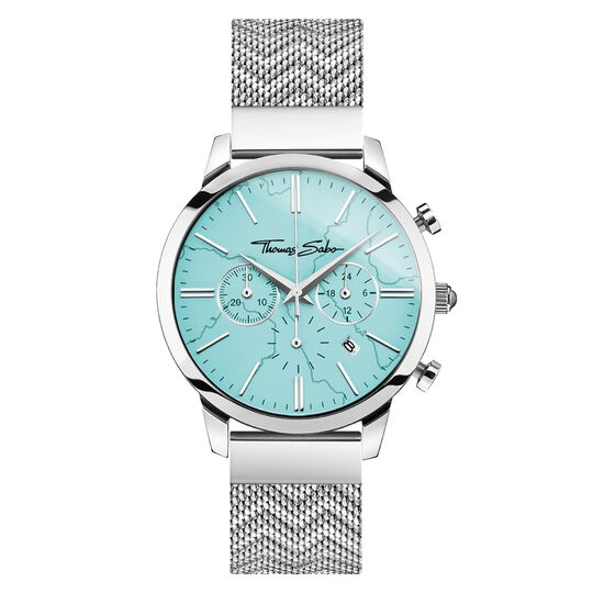 men's watch Chronograph Arizona Spirit turquoise from the Rebel at heart collection in the THOMAS SABO online store