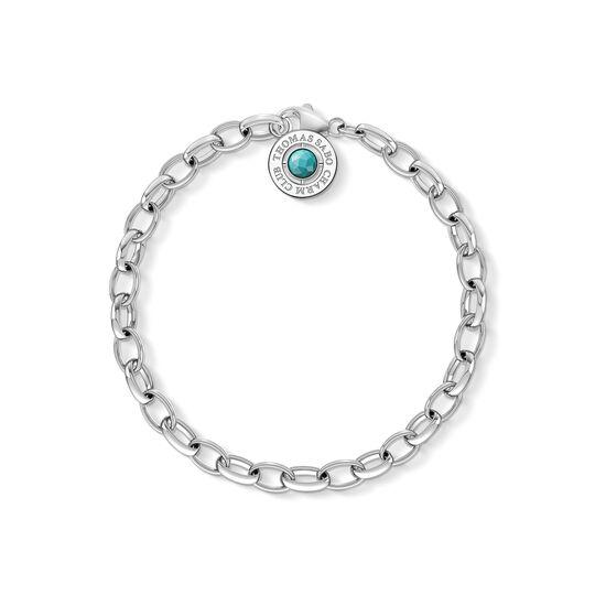 Charm-Armband Türkis aus der Charm Club Kollektion im Online Shop von THOMAS SABO