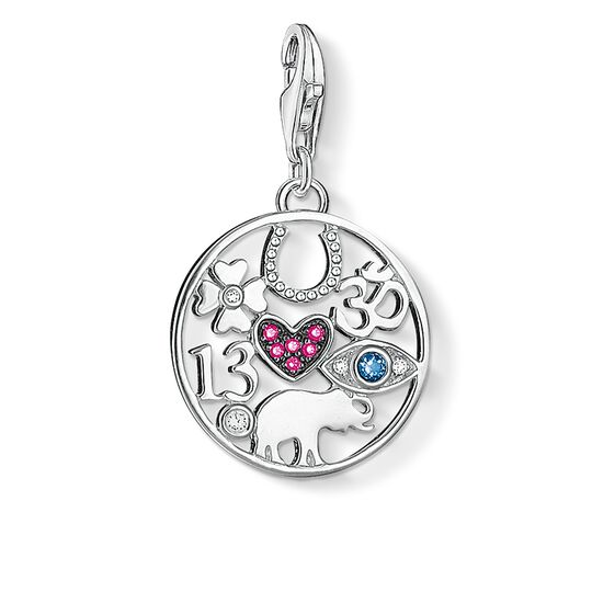 "ciondolo Charm ""simboli portafortuna"" from the  collection in the THOMAS SABO online store"