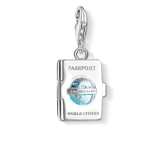 "ciondolo Charm ""passaporto"" from the  collection in the THOMAS SABO online store"