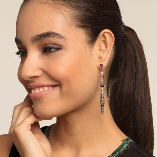 "earrings ""Asian ornaments"" from the Glam & Soul collection in the THOMAS SABO online store"