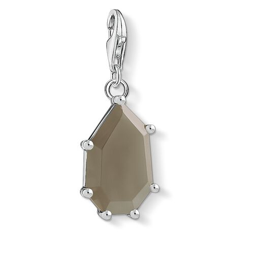 """Charm pendant """"Brown stone"""" from the  collection in the THOMAS SABO online store"""