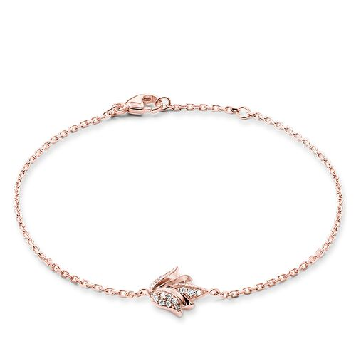 "bracelet ""lotus flower"" from the Glam & Soul collection in the THOMAS SABO online store"