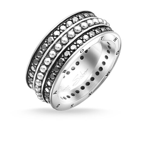 eternity ring from the Rebel at heart collection in the THOMAS SABO online store