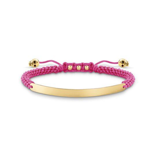 bracelet pink skull from the  collection in the THOMAS SABO online store