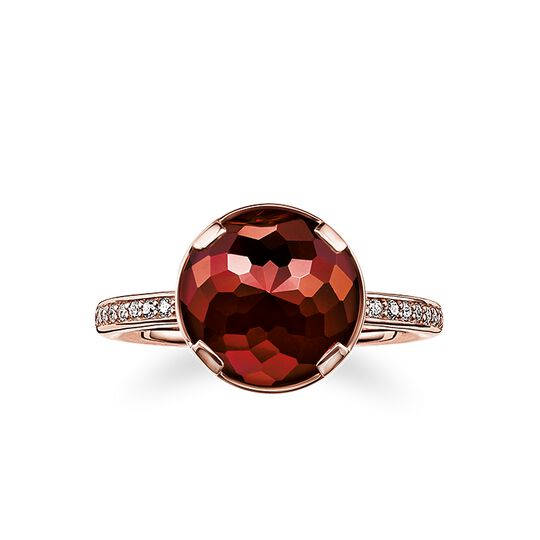 solitair ring root chakra from the Chakras collection in the THOMAS SABO online store