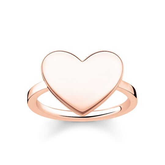 ring heart from the Love Bridge collection in the THOMAS SABO online store