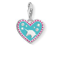 Charm-Anhänger Herz mit Einhorn aus der  Kollektion im Online Shop von THOMAS SABO