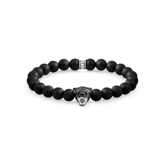 bracelet Black Cat onyx de la collection Rebel at heart dans la boutique en ligne de THOMAS SABO
