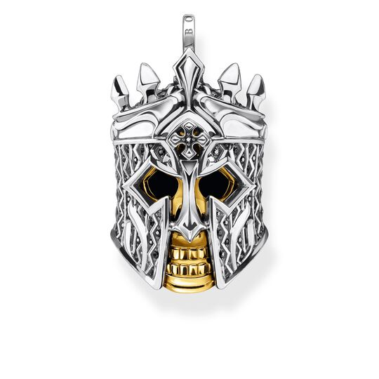 Pendant skull knight from the Rebel at heart collection in the THOMAS SABO online store