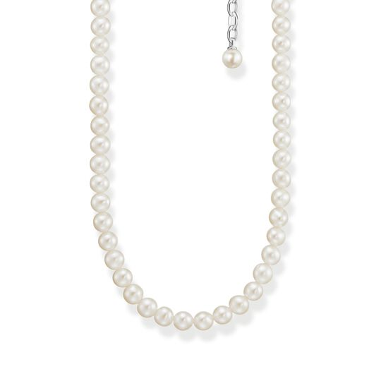 Necklace pearls silver from the  collection in the THOMAS SABO online store