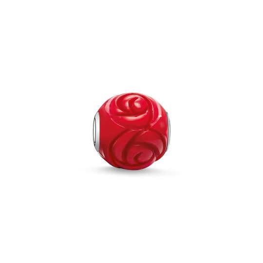 Bead red rose from the Karma Beads collection in the THOMAS SABO online store