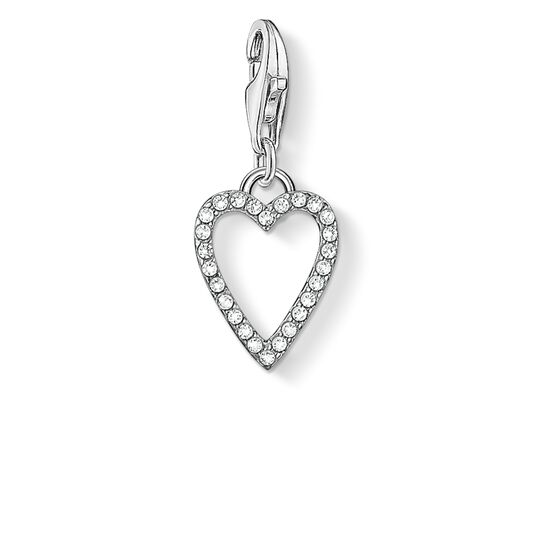 "ciondolo Charm ""cuore"" from the  collection in the THOMAS SABO online store"