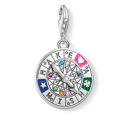 Charm pendant Wheel of Fortune from the Glam & Soul collection in the THOMAS SABO online store